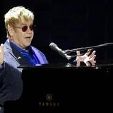 Elton John e James Taylor (Foto: Julie Jacobson/AP)