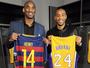 Barcelona, Milan e ídolo em comum: Kobe e Henry falam sobre futebol