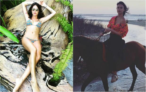 Thaila Ayala está passando férias em Trancoso, na Bahia (Foto: Reprodução do Instagram)