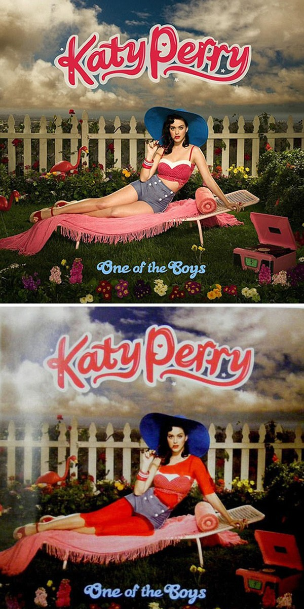Katy Perry (Foto: Bored Panda)