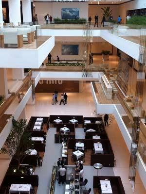 Centro de compras terá mais de 200 lojas (Foto: Fabiano Correia/G1)