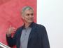 José Mourinho faz a primeira visita  ao Centro de Treinamento do United