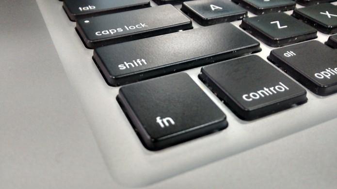Tecla Fn do teclado do notebook (Foto: Isadora Díaz/TechTudo)