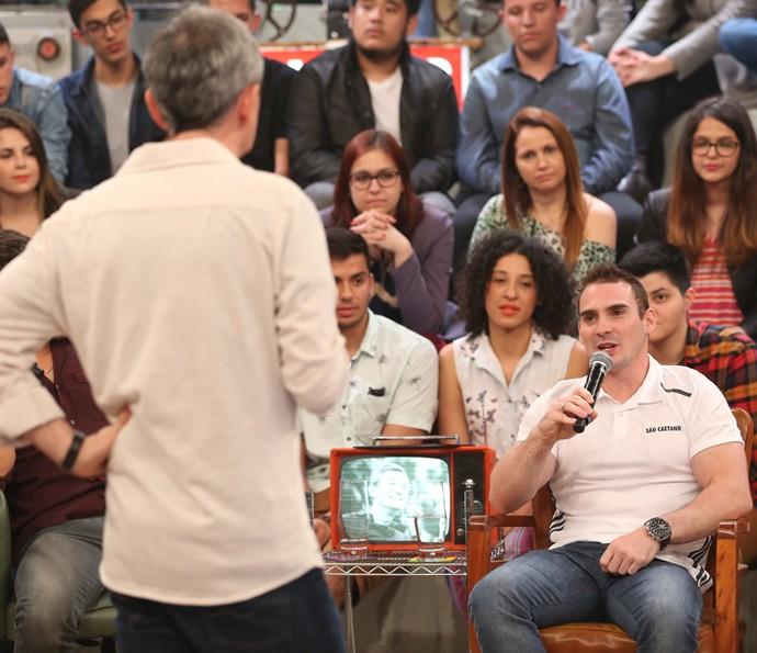 Arthur Zanetti conta que disputou a Olimpíada com dor no ombro (Foto: Carol Caminha/Gshow)
