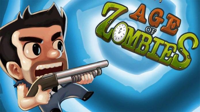 Age of Zombies traz zumbis através de vários períodos temporais (Foto: Reprodução)
