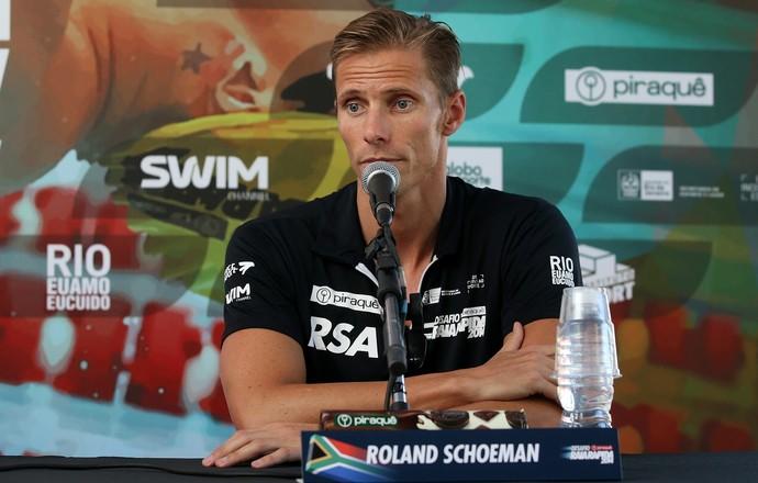 Roland Schoeman garantiu que pretende encontrar uma esposa brasileira (Foto: Satiro Sodré)