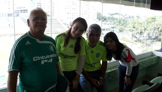 Periquito Mogi Palmeiras Palestra Itália (Foto: Arquivo Pessoal / Periquito de Mogi)
