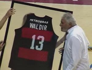 Waldyr Geraldo Boccardo, basquete Flamengo (Foto: Site do Flamengo)