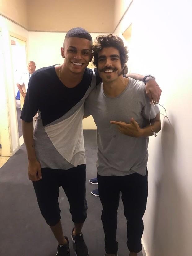 MC Maneirinha e Caio Castro (Foto: Arquivo pessoal)