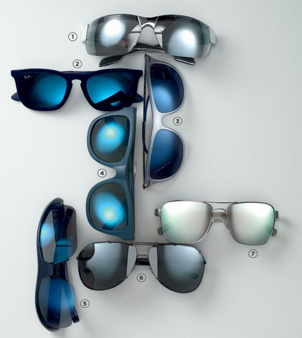 Modelos de óculos espelhados essenciais