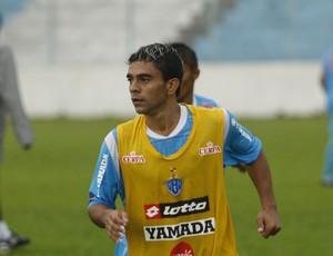 Leandrinho em treino do Paysandu (Foto: Tarso Sarraf/O Liberal)