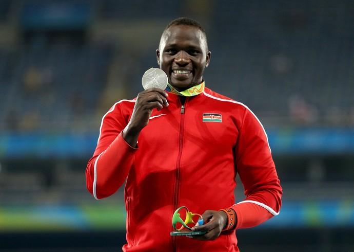 Julius Yego foi medalha de prata no lançamento de dardo na Rio 2016 (Foto: Getty Images)