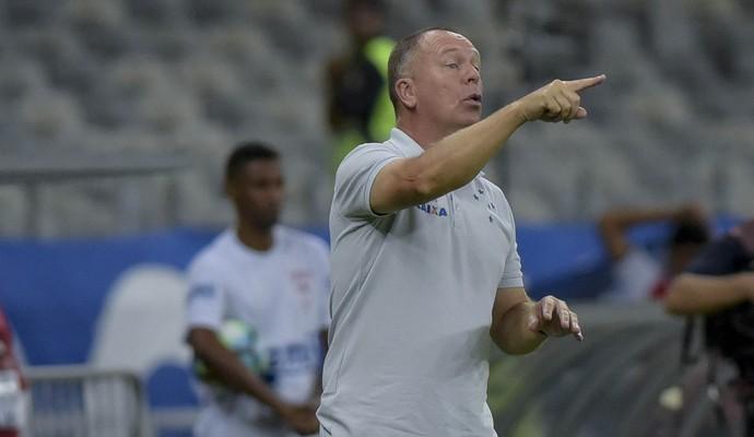Mano Menezes; Cruzeiro (Foto: Washington Alves)