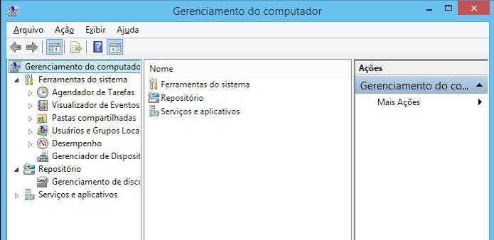 Gerenciamento do Computador permite administrar diversos aspectos do PC (Foto: Reprodução/Edivaldo Brito)