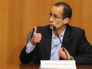 Na CPI da Petrobras, Marcelo Odebrecht negou a possibilidade de assinar acordo de delação premiada (Foto: Giuliano Gomes/PR PRESS)