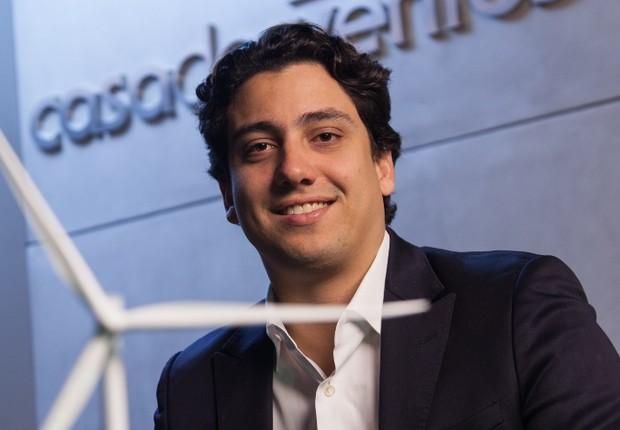Lucas Araripe, da Casa dos Ventos (Foto: Edu Moraes)