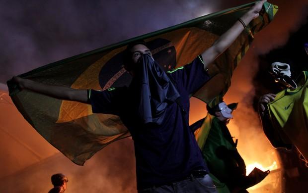 protestos brasil copa das confederações (Foto: Reuters)