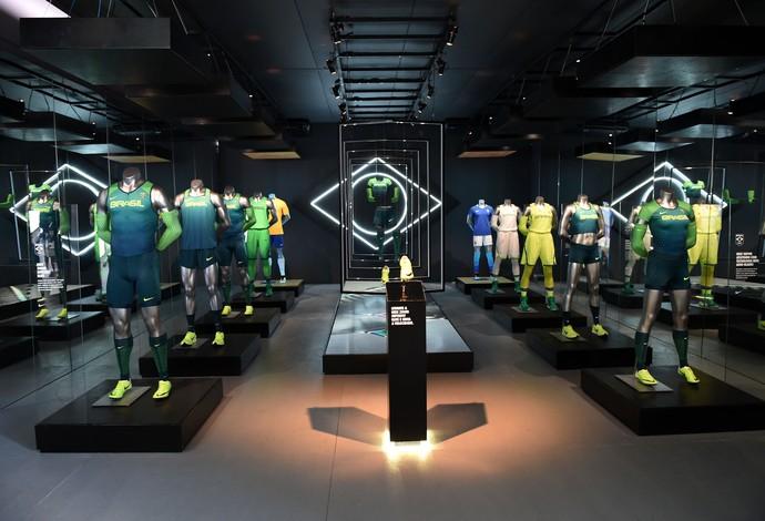 Lançamento dos Uniformes do Brasil nos Jogos Olímpicos  (Foto: André Durão)