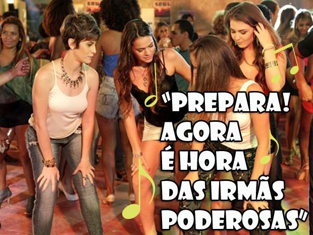 Aisha poderosa? (Foto: Salve Jorge / TV Globo)