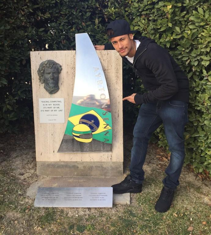 Neymar e Massa, treinos F1 (Foto: Divulgação)