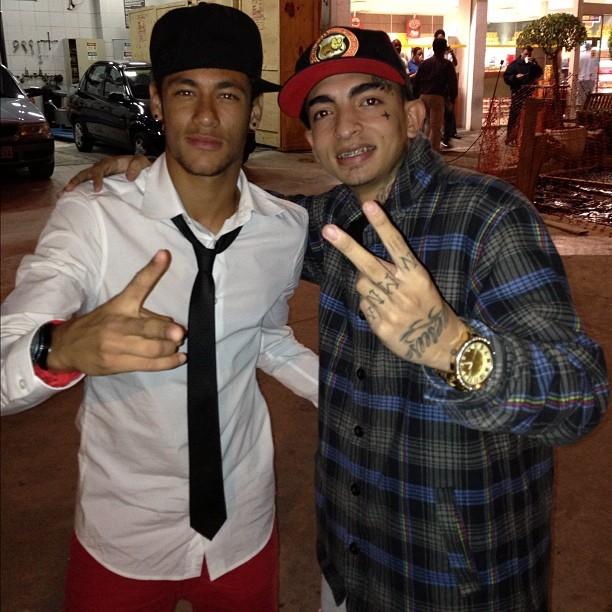 Neymar e Mc Guime, foto; Instagram (Foto: Reprodução  / Instagram)