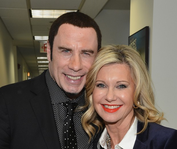 John Travolta e Olivia Newton-John (Foto: Getty Images)