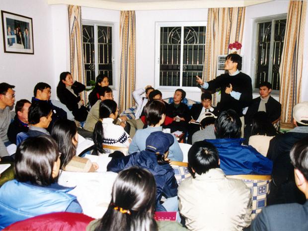 Em 1999, ano de fundação, a empresa funcionava no apartamento do fundador (Foto: Divulgação / AlibabaGroup.com)