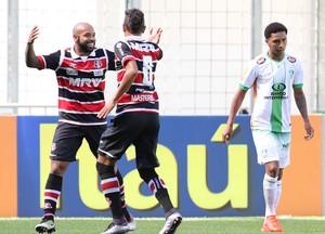 América-MG x Santa Cruz Tiago Costa gol (Foto: Futura Press)