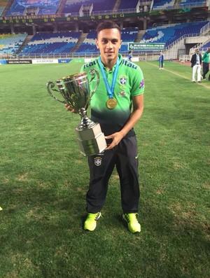 Léo Jabá Corinthians seleção brasileira sub-17 (Foto: Divulgação)