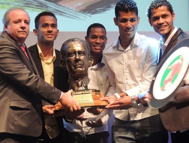 Taça Aderbal Ramos da Silva, Criciúma, TAC prêmio Top da Bola (Foto: Renan Koerich)