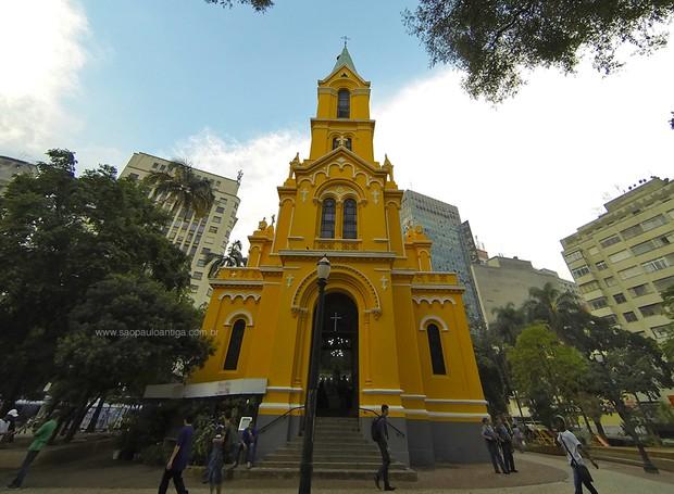 Igreja Nossa Senhora do Rosário dos Homens Pretos (Foto: Reprodução)