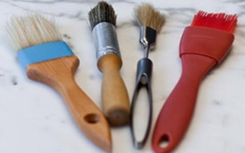 Utensílio indispensável: pincel de cozinha