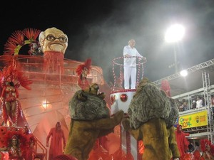 Imperadores do samba porto alegre (Foto: Rafaella Fraga/G1)