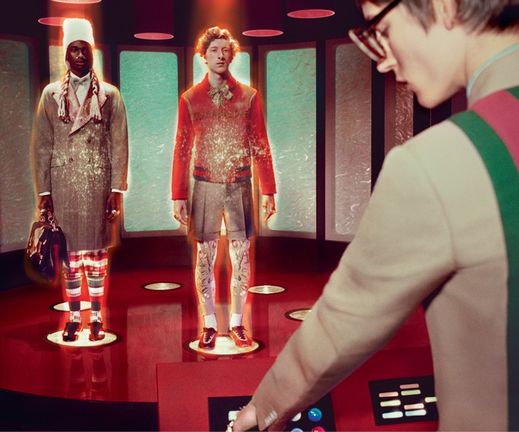 Gucci and beyond: Star Trek e filmes sci-fi inspiram vídeo da grife (Foto: Divulgação)