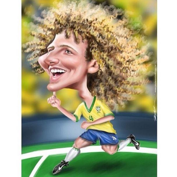 David Luiz (Foto: Instagram/Reprodução)
