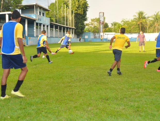 Nauas pronto para jogo da estreia contra o Atlético Acreano (Foto: Francisco Rocha)