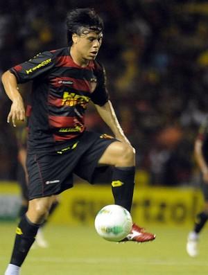 renan teixeira sport (Foto: Antônio Carneiro / Pernambuco Press)