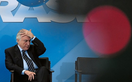 Michel Temer (Foto: MATEUS BONOMI/AGIF/ESTADÃO CONTEÚDO)