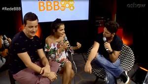 Luiz Felipe, Mayla e Rafael Cortez (Foto: Gshow)