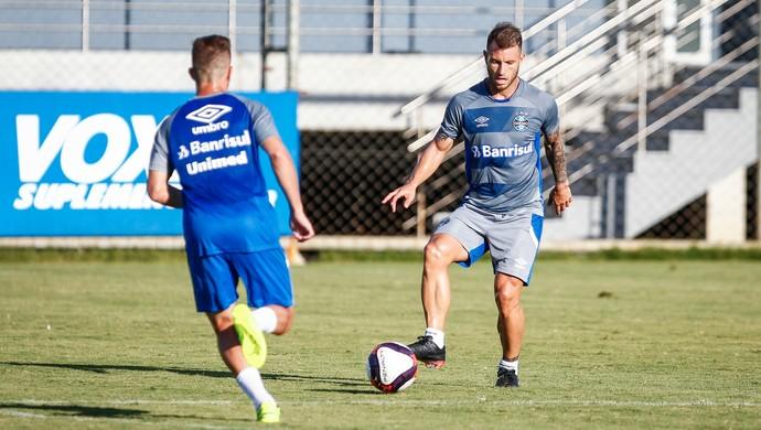 Gastón Gata Fernández Grêmio (Foto: Lucas Uebel/Grêmio)