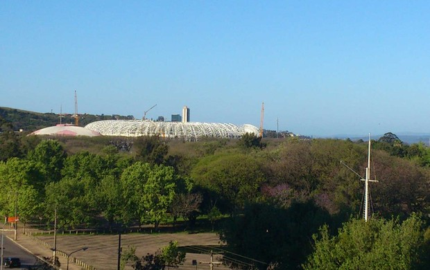 Beira-Rio visita fifa (Foto: Felippe Costa)