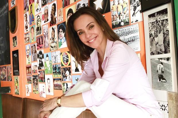 Flávia Monteiro posa para o EGO (Foto: Isac Luz / EGO)