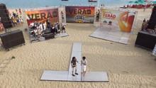 Rota inicia temporada de verão em arena na praia de Barra de Cunhaú (Reprodução/ Inter TV Cabugi)