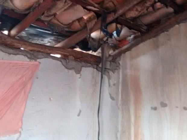 Incêndio atingiu quarto de criança, que morreu no atentado (Foto: Divulgação / Polícia Civil)