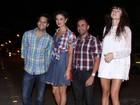 Elenco de 'Sangue bom' se reúne em festa julina no Rio