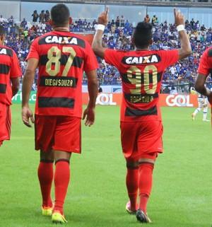 Gol Rogério Sport Cruzeiro (Foto: Williams Aguiar/Sport)