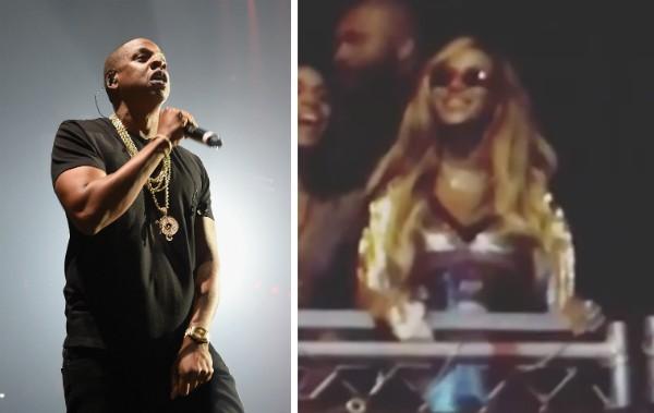 A cantora Beyoncé dançando durante a homenagem de Jay-Z em seu aniversário de 36 anos (Foto: Getty Images/Instagram)