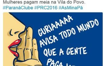Líder, Paraná Clube faz promoção de ingressos para mulheres no estadual