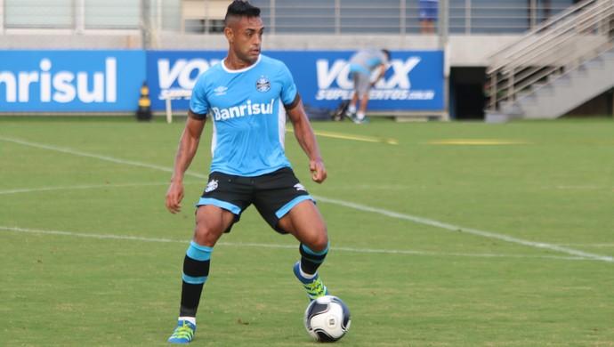 Werley treino do Grêmio (Foto: Eduardo Moura/Globoesporte.com)