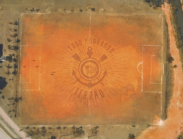 campo da base terceira camisa do Corinthians